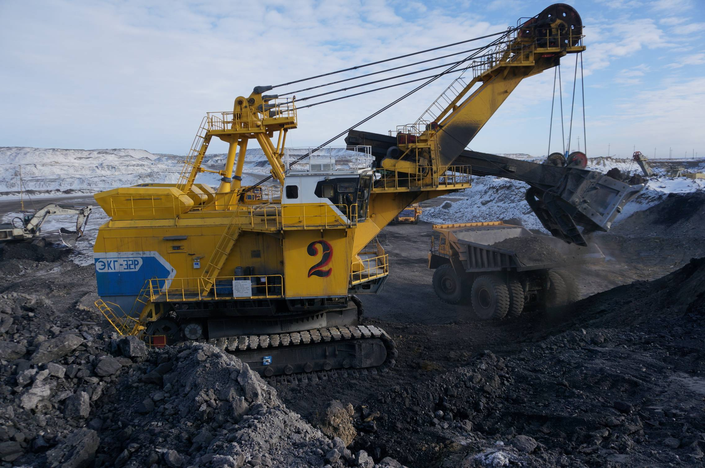 "Coal company ""Kuzbassrazresugol"" increased volumes of coal mining."