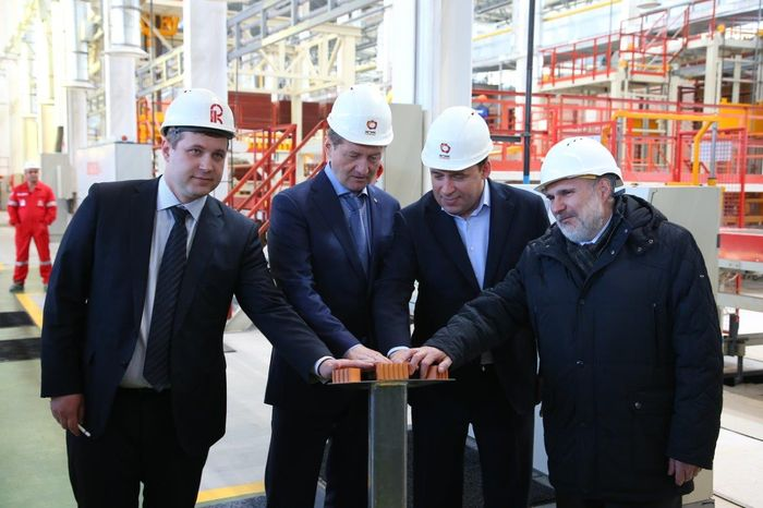 Evgeny Kuivashev and Andrey Kozitsyn opened a unique for the Urals production of bricks
