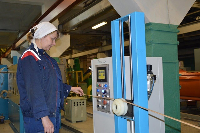 «Uralkabel» commissioned a modern production line for manufacture of power transformer winding