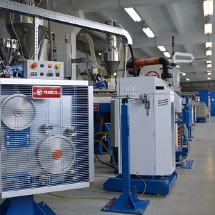 "A new extrusion line of 750ths. EURO was put into operation at ""Uralkabel"""